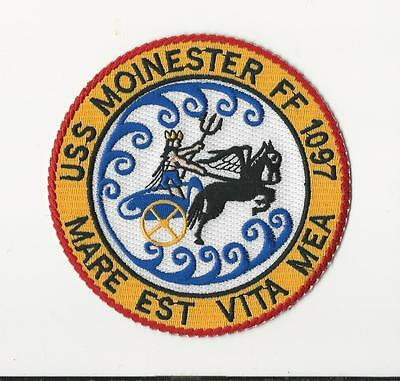 Us Navy Patch - Ff 1097 Uss Moinster