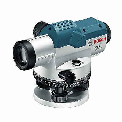 Bosch GOL32 32x 1/16-Inch Magnetic Dampening Automatic Lock-Out Optical Level