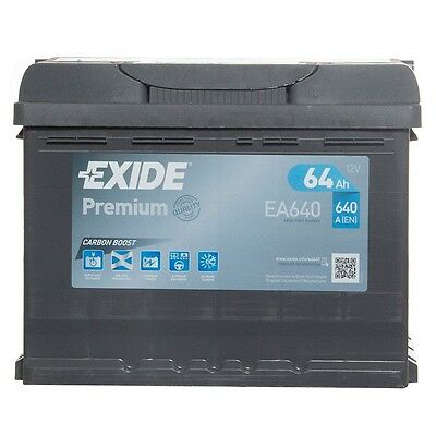 Type 027 640CCA 4 Yrs Wty Exide Premium Car Battery Sealed OEM Quality 12V 64Ah