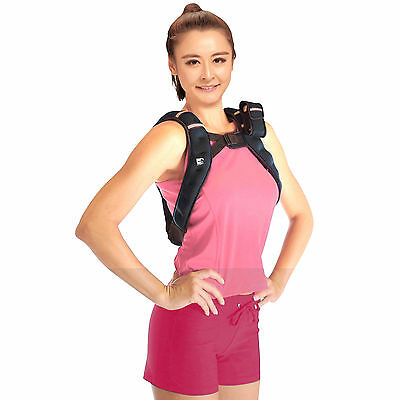 New SportEQ 6kg Weighted Running Excersize Vest, Resistance Training, Cardio