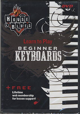 RRP 14.95 Learn to Play Beginner Keyboards Tuition DVD Method