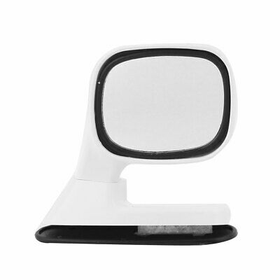 Auto Car Driver Sideview Assistant Rotatable Right Hand Rear View Mirror White
