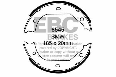 6660 EBC Rear Brake Shoes fit SMART for two
