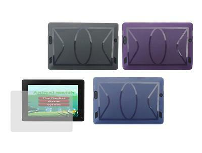 """TPU Gel Skin Cover Case and Screen Protector for Amazon Kindle Fire HD 7"""" 2013"""