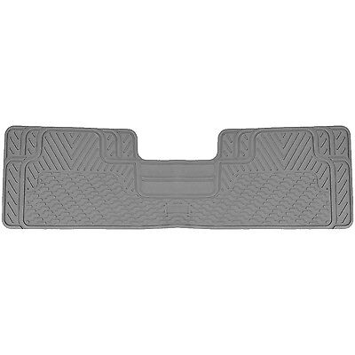 Gray All Weather Heavy Duty Rubber Floor Mat Universal Car Truck SUV