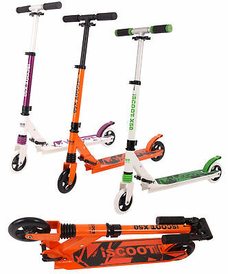 iScoot Pro Stunt Scooter Triple Stacked 360 Degree BMX Style Kids Boys Freestyle