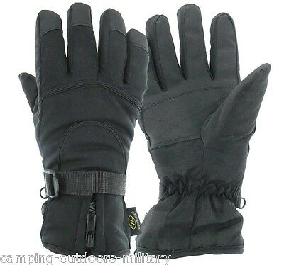 NEW Padded Thinsulate LINED Waterproof GLOVES Windproof Breathable Mens Winter