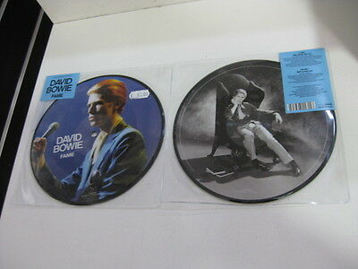 "David Bowie Picture Disc 7"" Fame"