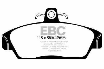 135 BHP 2002-2005 EBC GREENSTUFF PADS DP2662//2 FOR MG TF 1.8 240MM DISCS
