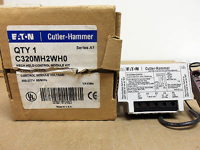 New EATON Cutler Hammer C320MH2WH0 200-277v Lighting Contactor Module