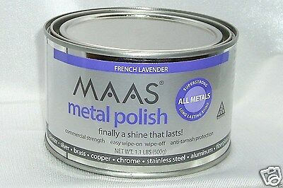 Maas Polish 1.1 Lb Can Silver Copper Brass Sterling Metal Cleaner Kosher Approve