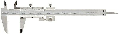 Fowler 52-058-016 Stainless Steel Fine Adjustment Vernier Caliper with Satin ...