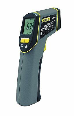General Tools IRT207 Heat Seeker 8:1 Mid-Range Infrared Thermometer 8 in 1