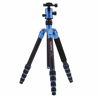 MeFoto Globetrotter Classic Aluminum Tripod Kit (Blue) with Q2 Ball Head