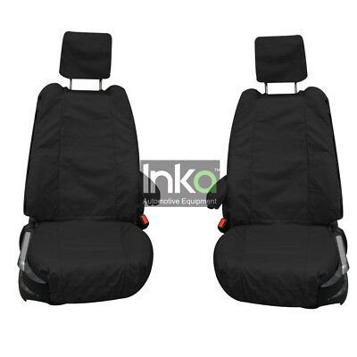 Range Rover Front Row Set Inka Fully Tailored Waterproof Seat Cover Black