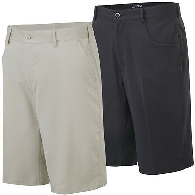 60% OFF RRP Cypress Point Mens Plain Golf Shorts Classic Style