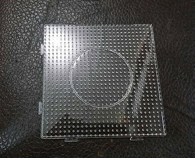 Hot Bead PEGBOARD Square shape Template for Perler Beads great fun 14.5X14.5cm