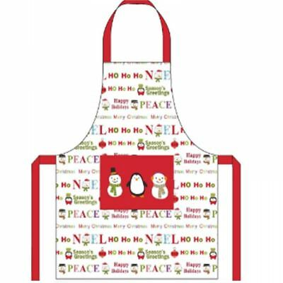 Snowman Festive Christmas Kitchen Apron Chef Cooking Baking Novelty Bbq Craft