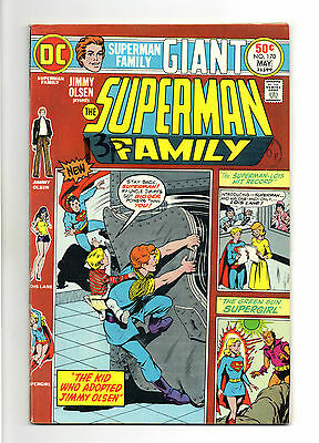 Superman Family Vol 1 No 170 May 1975 (VFN) Giant Size, Bronze Age (1970 - 1979)
