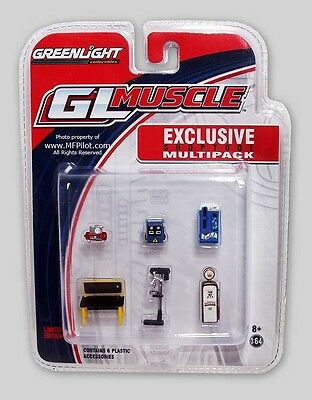 SHOPTOOLS MULTI Diorama Accessories (6) - 1/64 Greenlight #13121 - FREE SHIPPING