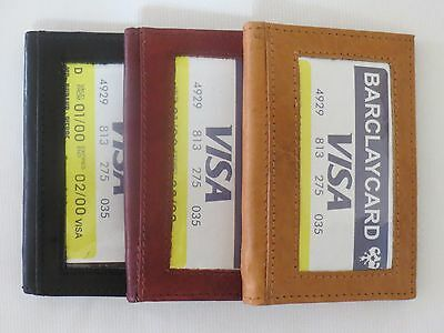New Men's Genuine Leather Bifold Wallet ID Credit Card Money Holder.
