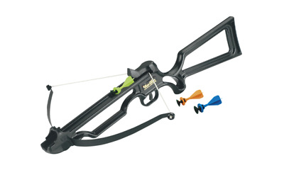 Exact - Toy Crossbow - Black - Includes 3 Suction Darts - Ages 5 And Up