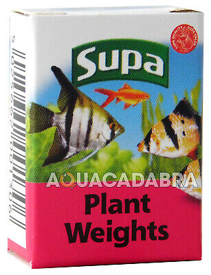 Supa Aquarium 10 Plant & Airline Lead Weights Fish Tank Tropical Cold Water 1306