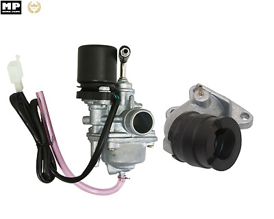 Kit Carburateur  + Starter + Pipe d'Admission PEUGEOT Elyseo 50 Buxy 50