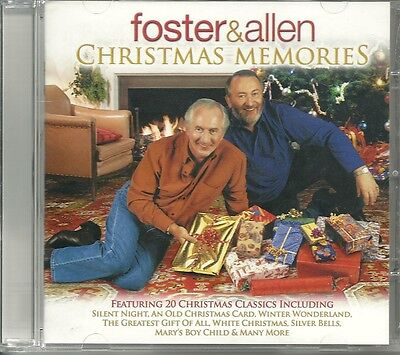 Foster & Allen Christmas Memories Cd 20 Classic Songs