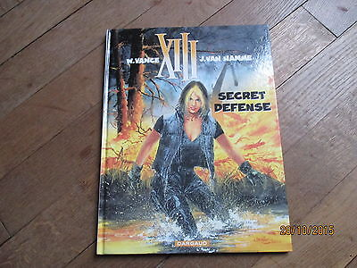 ALBUM BD XIII tome 14 secret defense eo 2000  vance van hamme