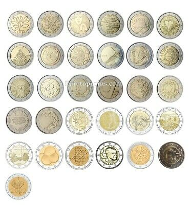 #rm# 2 Euro Commemorative Finland (2004-2017) -  All Pieces - Please Choose