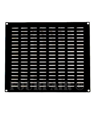 "Eight Space 8U - 19"" Vented Blank Network Rack Mount Server Panel Filler Spacer"