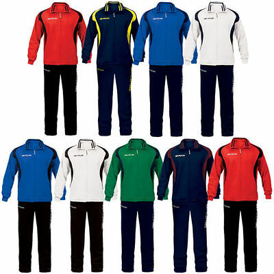 Givova Tuta Time Tracksuit Leisure Suit Football Suit 5XS - 3XL new