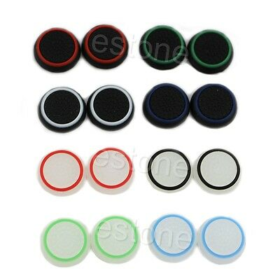 10x Analog Controller Thumb Stick Grip Thumbstick Cap Cover For PS4 XBOX ONE 360