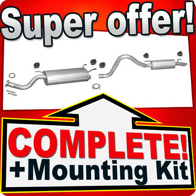 Toyota Land Cruiser 4.2 TD 150KW 204HP since 1998 Silencer Exhaust System H37