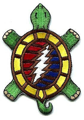 GRATEFUL DEAD steal your terrapin IRON ON PATCH Free Shipping turtle