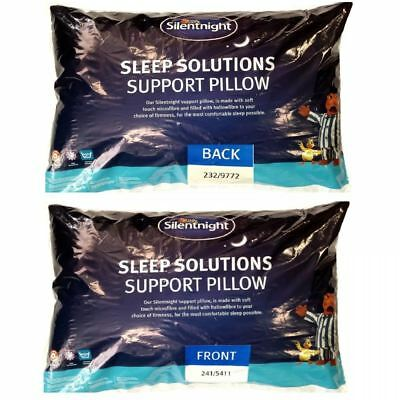 Silentnight Luxury Sleep Solutions Support Cushion Pillow Non Allergy Bedding