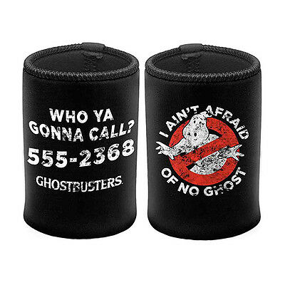 1x GHOSTBUSTERS Can Cooler Stubby Holder Dan Aykroyd Bill Murray Christmas Gift