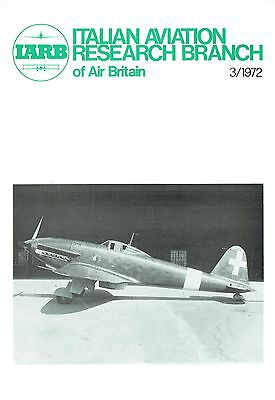 Italian Aviation Research 03/72 Facsimile: Cant 2-504/ Junkers Monoplanes