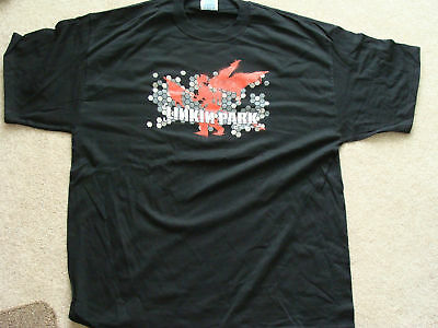 LINKIN PARK 2 side print  T-SHIRT XL