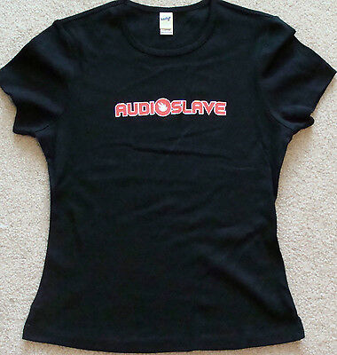 Audioslave Baby Doll Style Tour T-Shirt Size large