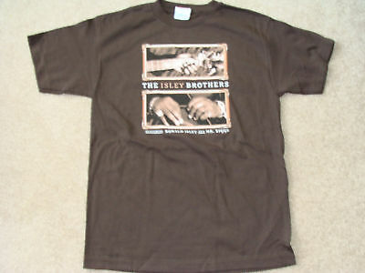 ISLEY BROTHERS BIGGS Concert T-Shirt NEW Small