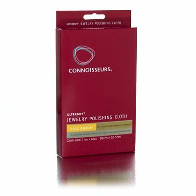 Connoisseurs Ultrasoft Large GOLD Jewellery Polishing Cleaning Tarnish Cloth