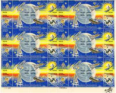 Scott #1912/19....18 Cent.... Space Achievement...  Sheet of  48