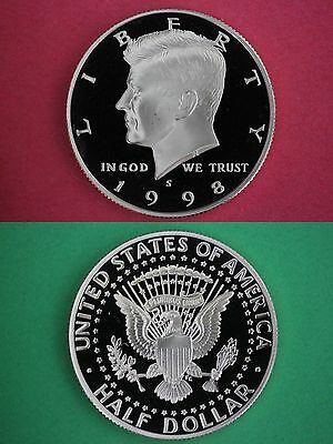 """2004-S GEM PROOF KENNEDY HALF DOLLAR ULTRA CAMEO /""""COMBINED SHIPPING DISCOUNTS/"""""""