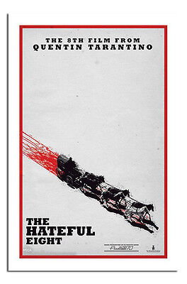 The Hateful 8 Movie Film Teaser Poster New - Maxi Size 36 x 24 Inch