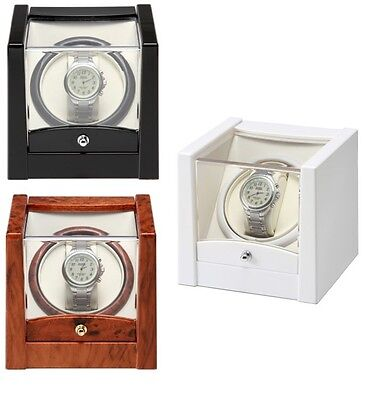 New KA079 SELECT COLOUR Watch Winder For Single Automatic Watches Time Tutelary