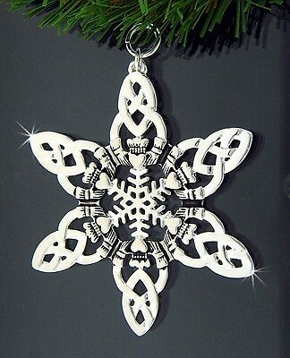Celtic Claddagh SnowWonders Ornament/Pin