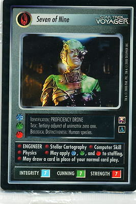 Star Trek CCG Reflections 1.0 Unplayed Near Set No UR Nr/Mint 101 Cards