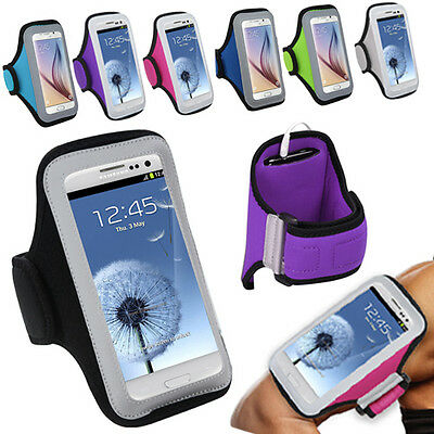 Armband Exercise Gym Jogging Biking Hiking Holder Medium Case for Smartphone